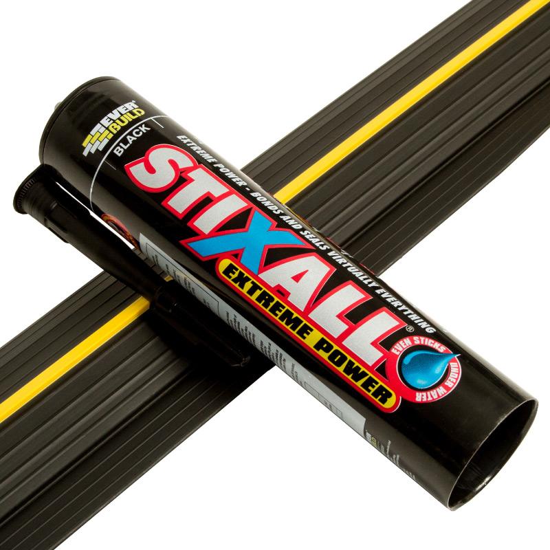 Everbuild Stixall Extreme Power Black 290ml Weather Defender