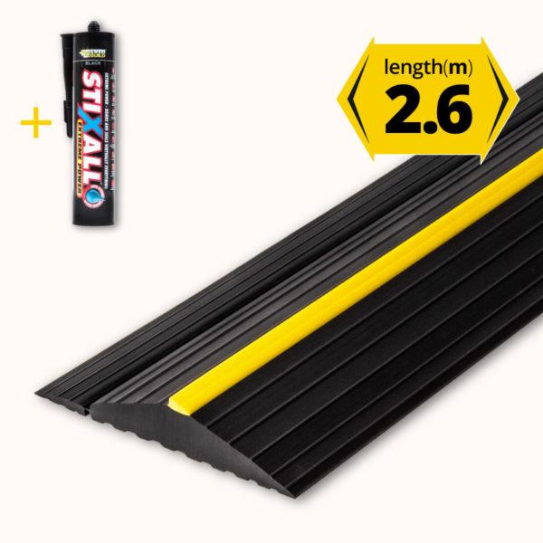 Garage door floor seal 2.6m