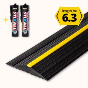 Garage door floor seal 6.3m