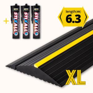 Garage door floor seal XL 6.3m